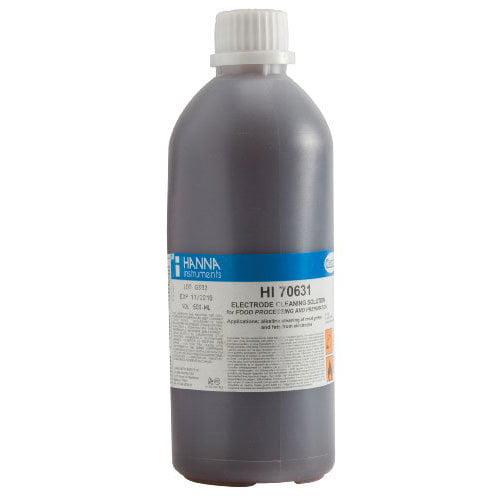 น้ำยาทำความสะอาดหัววัด (Grease and Fats Acid) รุ่น HI70631L