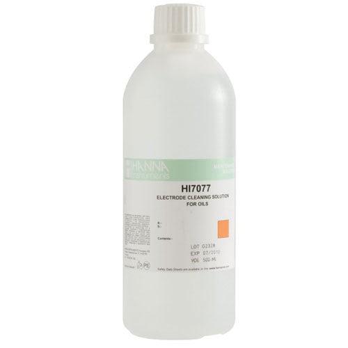 น้ำยาทำความสะอาดหัววัด (Cleaning Solution for Oil and Fats) รุ่น HI7077L