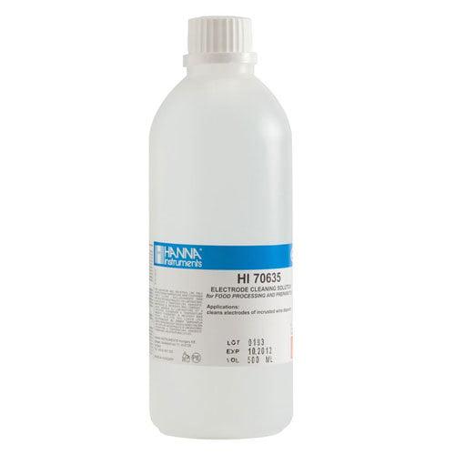 น้ำยาทำความสะอาดหัววัด Cleaning Solution for Wine Deposits รุ่น HI70635L