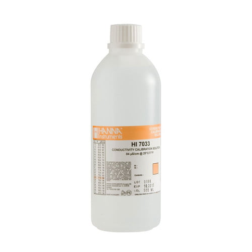 น้ำยามาตรฐานสอบเทียบ EC รุ่น HI7033L