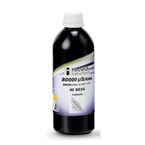 น้ำยามาตรฐานสอบเทียบ EC รุ่น HI8034L