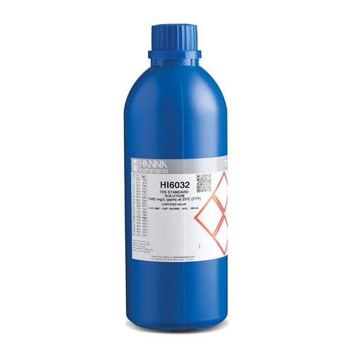 น้ำยามาตรฐานสอบเทียบ TDS รุ่น HI6032