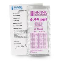 น้ำยามาตรฐานสอบเทียบ TDS แบบซองรุ่น HI70038C