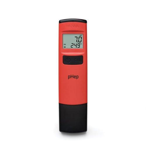 เครื่องวัดค่าความเป็นกรด ด่าง pH Meter แบบปากกาจาก Hanna รุ่น HI98107