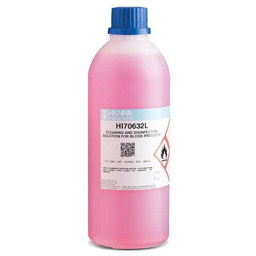 น้ำยาทำความสะอาดหัววัด Cleaning Disinfection Solution for Blood รุ่น HI70632L