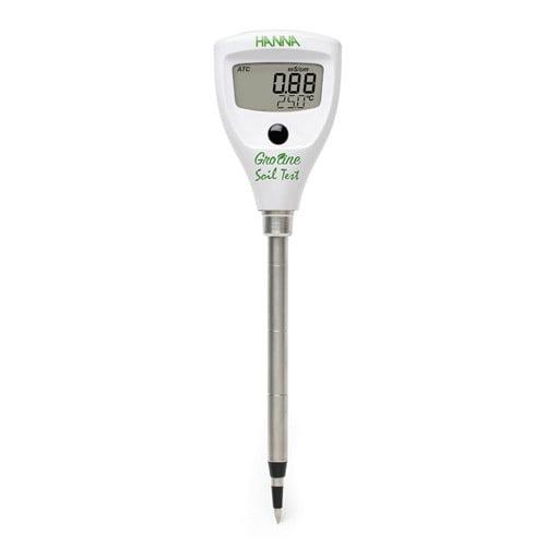 เครื่องวัดค่าความนำไฟฟ้าในดิน (EC Soil Meter) จาก Hanna รุ่น HI98331