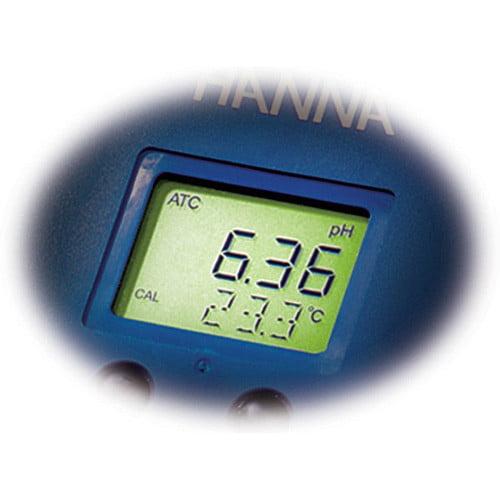 เครื่องวัดค่า PH EC TDS Monitoring รุ่น HI991404-02