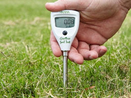 เครื่องวัด EC ในดิน (ความนำไฟฟ้าในดิน)