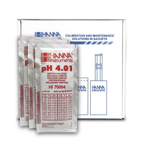 pH Buffer Solution แบบซองรุ่น HI70004C