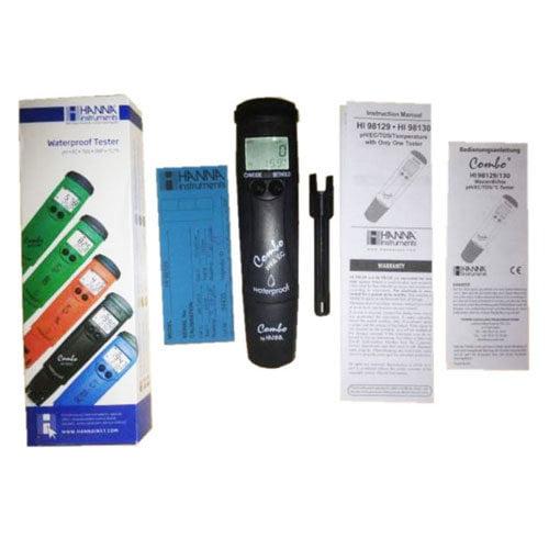 เครื่องวัด pH EC TDS Meter แบบปากกาจาก Hanna รุ่น HI98130