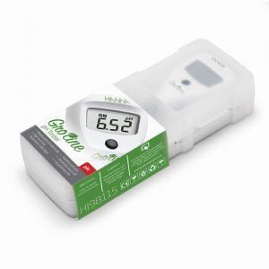 pH Meter แบบปากกาสำหรับไฮโดรโปนิกส์ GroLine HI98115