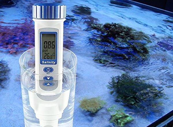 เครื่องวัดความเค็มน้ำทะเล