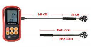 เครื่องวัดความเร็วลม (Anemometer) Mastech รุ่น GM8909