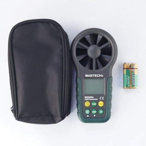 เครื่องวัดความเร็วลม (Anemometer) Mastech รุ่น MS6252A