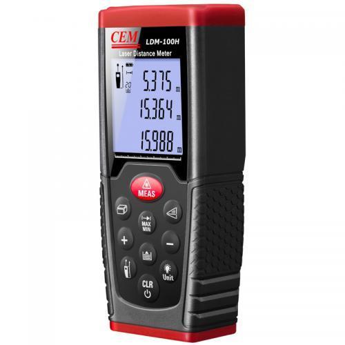 เครื่องวัดระยะเลเซอร์ (Laser Distance Meter) CEM รุ่น LDM-100H