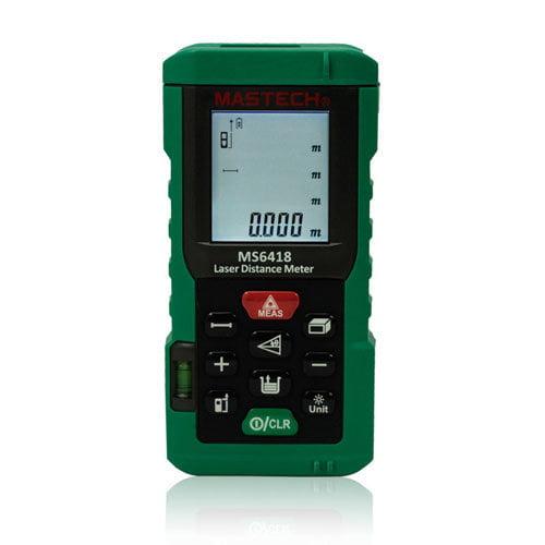 เครื่องวัดระยะเลเซอร์ (Laser Distance Meter) Mastech รุ่น MS6418
