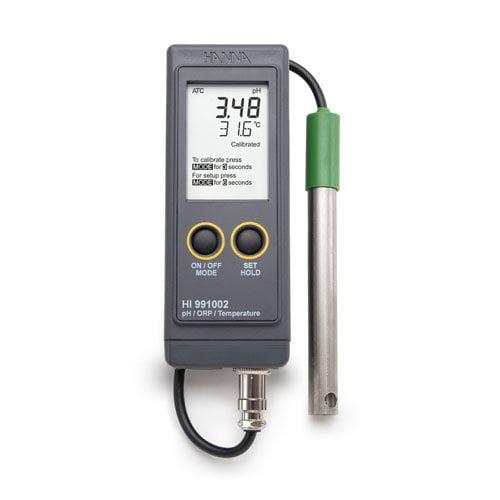เครื่องวัด pH ORP Meter (Portable) พกพาสำหรับงานภาคสนามรุ่น HI991002