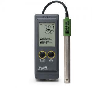 pH ORP Meter (Portable) พกพาสำหรับงานภาคสนามรุ่น HI991002