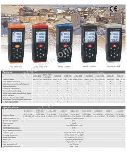 เปรียบเทียบเครื่องวัดระยะเลเซอร์ CEM