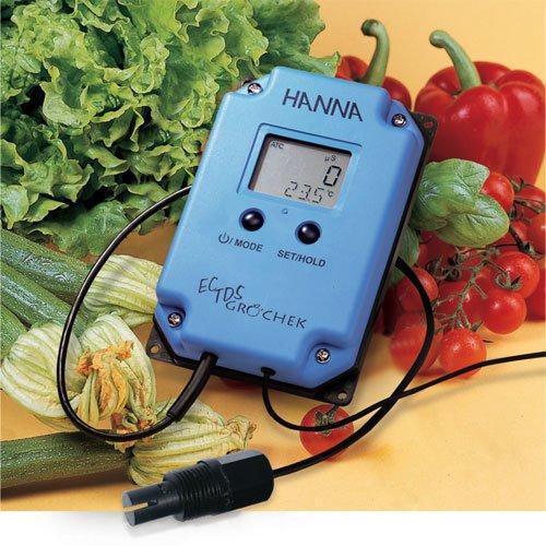 เครื่องวัดค่า EC TDS และอุณหภูมิ Monitoring รุ่น HI993302-02