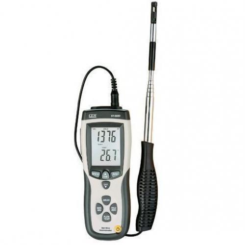 เครื่องวัดความเร็วลมแบบ Hotwire Anemometer จาก CEM รุ่น DT-8880