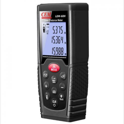 เครื่องวัดระยะเลเซอร์ (Laser Distance Meter) CEM รุ่น LDM-60H