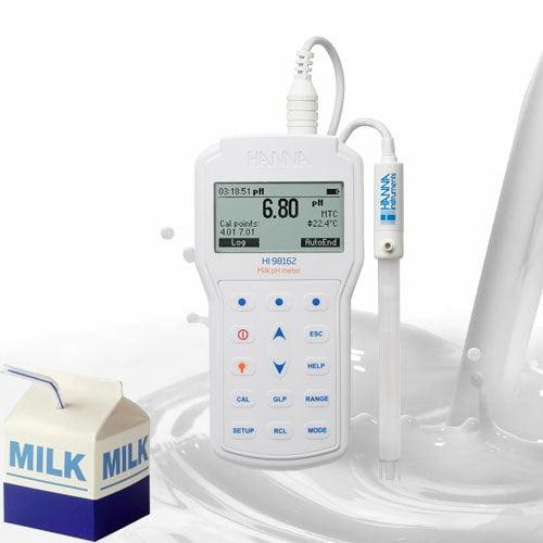 HI98162 สำหรับการวัดกรดด่างในนม