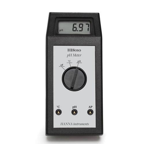 เครื่องวัด pH Meter จาก Hanna รุ่น HI8010
