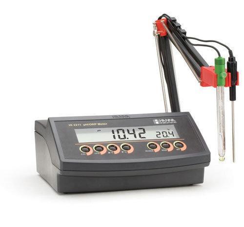 เครื่องวัดกรด-ด่าง pH ORP Benchtop Meter แบบตั้งโต๊ะ HI2211