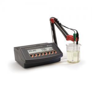 เครื่องวัด pH ORP Benchtop Meter แบบตั้งโต๊ะ HI2221