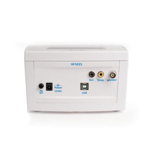 เครื่องวัด pH ORP Benchtop Meter แบบตั้งโต๊ะ Research Grade รุ่น HI5221