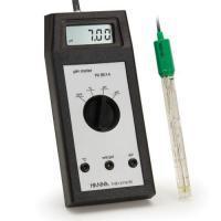 เครื่องวัดกรด-ด่าง pH ORP Meter พกพาสำหรับงานภาคสนามรุ่น HI8014