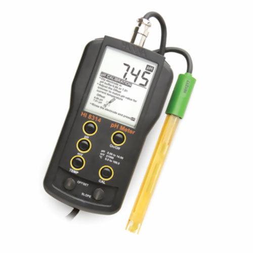 เครื่องวัด pH ORP Meter และอุณหภูมิ จาก Hanna รุ่น HI8314