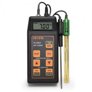 เครื่องวัดกรด-ด่าง pH ORP Meter พกพาสำหรับงานภาคสนามรุ่น HI8424