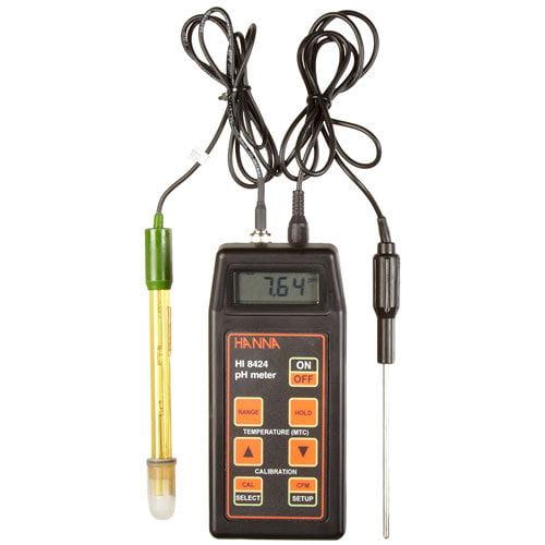 pH ORP Meter พกพาสำหรับงานภาคสนามรุ่น HI8424