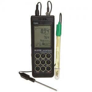 เครื่องวัด pH ORP Meter (Portable) พกพาสำหรับงานภาคสนามรุ่น HI9126