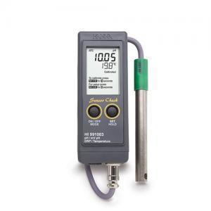 เครื่องวัด pH ORP pH-mV Meter แบบพกพาสำหรับงานภาคสนามรุ่น HI991003