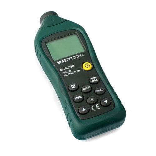 เครื่องวัดความเร็วรอบ Mastech รุ่น MS6208B (Tachometer with Non-contact)