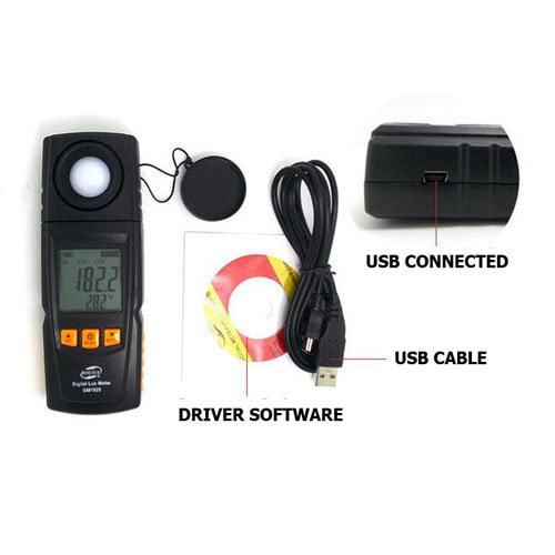 Lux Meter BENETECH รุ่น GM1020 USB