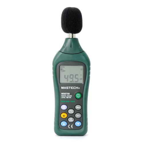 เครื่องวัดความดังเสียง Mastch รุ่น MS6708