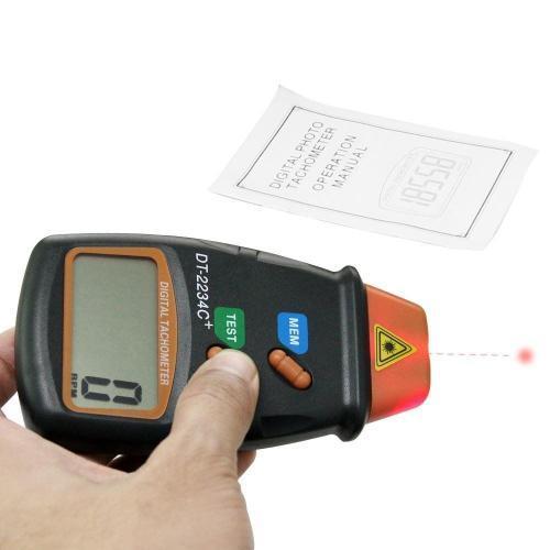 เครื่องวัดความเร็วรอบรุ่น DT2234C+ (Non-contact Tachometer)