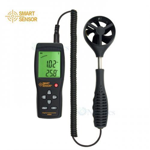 เครื่องวัดความเร็วลม Anemometer แบรนด์ SmartSensor รุ่น AS856
