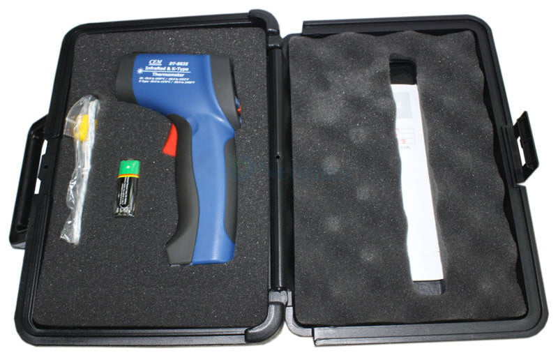 Infrared Thermometer and Thermocouple รุ่น DT-8835