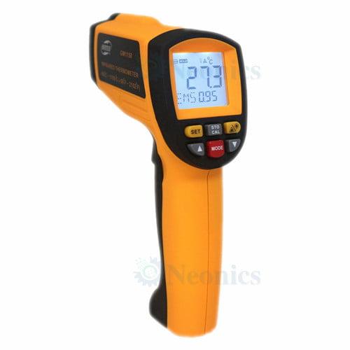 เครื่องวัดอุณหภูมิอินฟราเรด เทอร์โมมิเตอร์ (Infrared Thermometer) BeneTech รุ่น GM1150