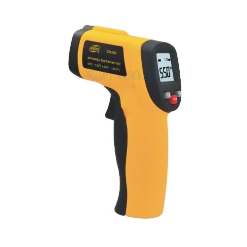 เครื่องวัดอุณหภูมิอินฟราเรด เทอร์โมมิเตอร์ (Infrared Thermometer) รุ่น GM550
