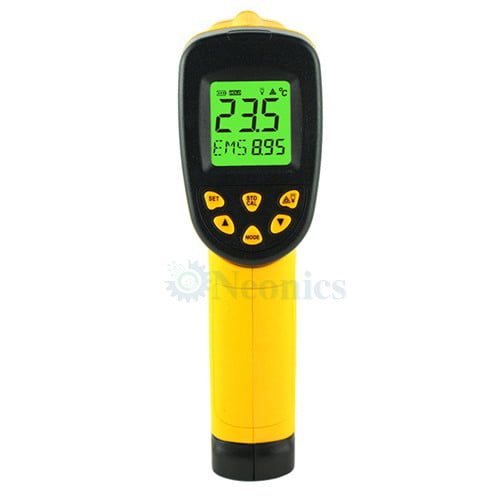เครื่องวัดอุณหภูมิอินฟราเรด เทอร์โมมิเตอร์ (Infrared Thermometer) รุ่น AS862A