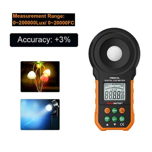 เครื่องวัดแสง-LED-Lux-Meter-PM6612L
