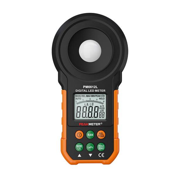 เครื่องวัดแสง LED Lux Meter รุ่น PM6612L