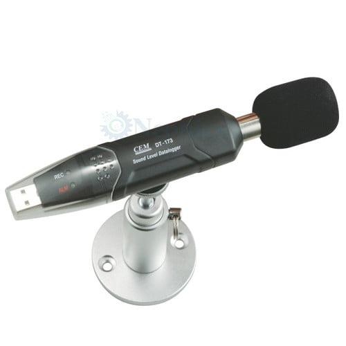 เครื่องบันทึกความดังเสียง Datalogger Sound Level Meter รุ่น DT-173