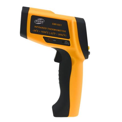 เครื่องวัดอุณหภูมิอินฟราเรด เทอร์โมมิเตอร์ (Infrared Thermometer) Benetech รุ่น GM1651